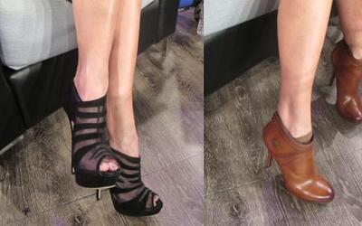 Zapatos 101 con Lili Estefan: La Flaca recibe 'fashion ideas' de algunos...
