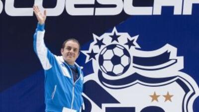 El veterano jugador volverá a la primera división buscando ayudar al Pue...