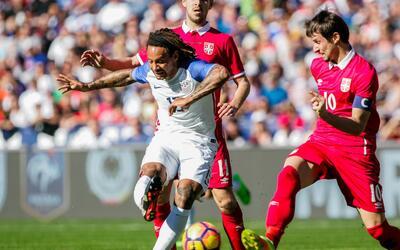 Comienza la nueva era de Arena con 0-0 de Estados Unidos ante Serbia