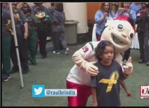 El Show de Raul Brindis se une al mes de prevención del cáncer infantil