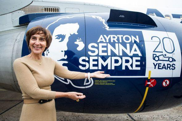 La aerolínea brasileña Azul, por su parte, homenajeó al piloto con la pr...