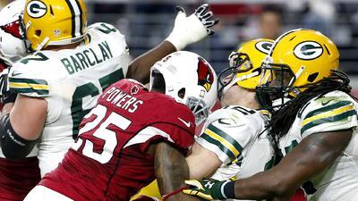 Cardinals 38-8 Packers: Arizona maltrata a Rodgers y apalea a los Packer...