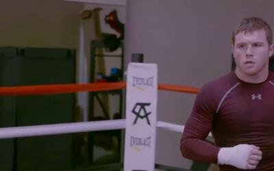 Saúl 'Canelo' Alvarez se siente listo y concentrado en Amir Khan