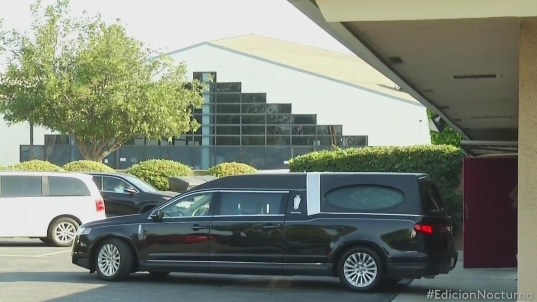 Son despedidos los restos de Juan Gabriel en Los Ángeles