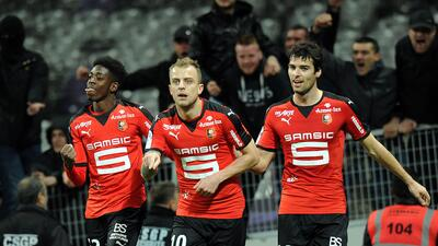 El Stade Rennais ganó
