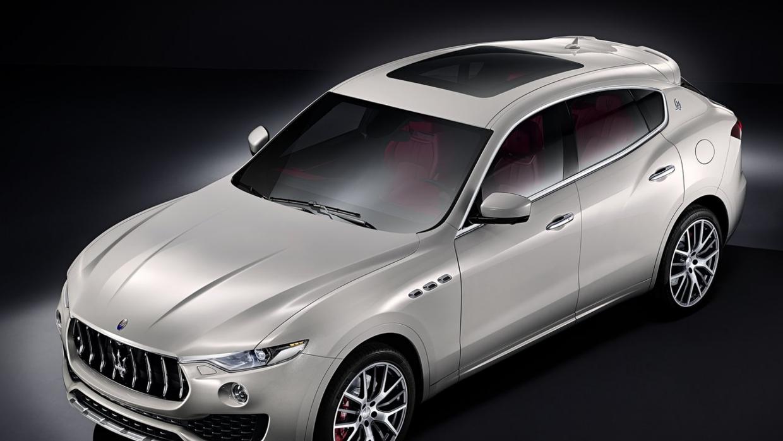 Las línea de la Maserati Levante 2017 replican las del resto de la línea