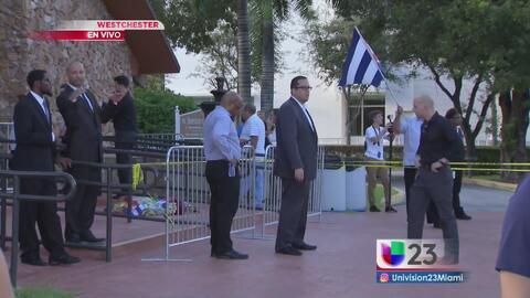 Cientos de personas despiden a José Fernández