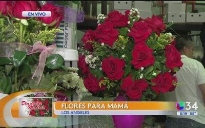 Rebajan los precios de las flores por el Día de las Madres