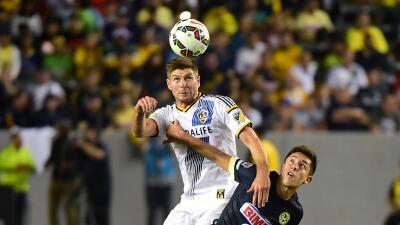 Steven Gerrard debuto con LA Galaxy