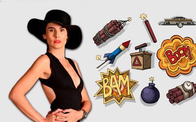 Muchas pistolas, explosivos y granadas son los artefactos que Griselda u...