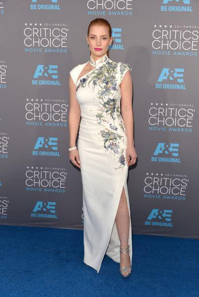 Jessica Chastain sabe muy bien cuáles son las prendas con las que le pue...