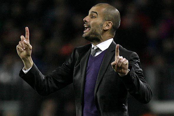 Josep Guardiola, técnico de los catalanes, ha hecho lo necesario...