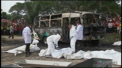 Autobús en Colombia no tenía seguro y circulaba de manera ilegal