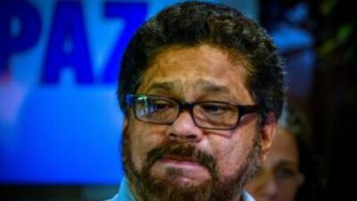 'Iván Márquez', jefe de la delegación negociadora de las FARC.