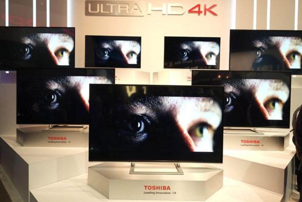 Toshiba fue otra de las marcas que presumió su nueva tecnología en telev...