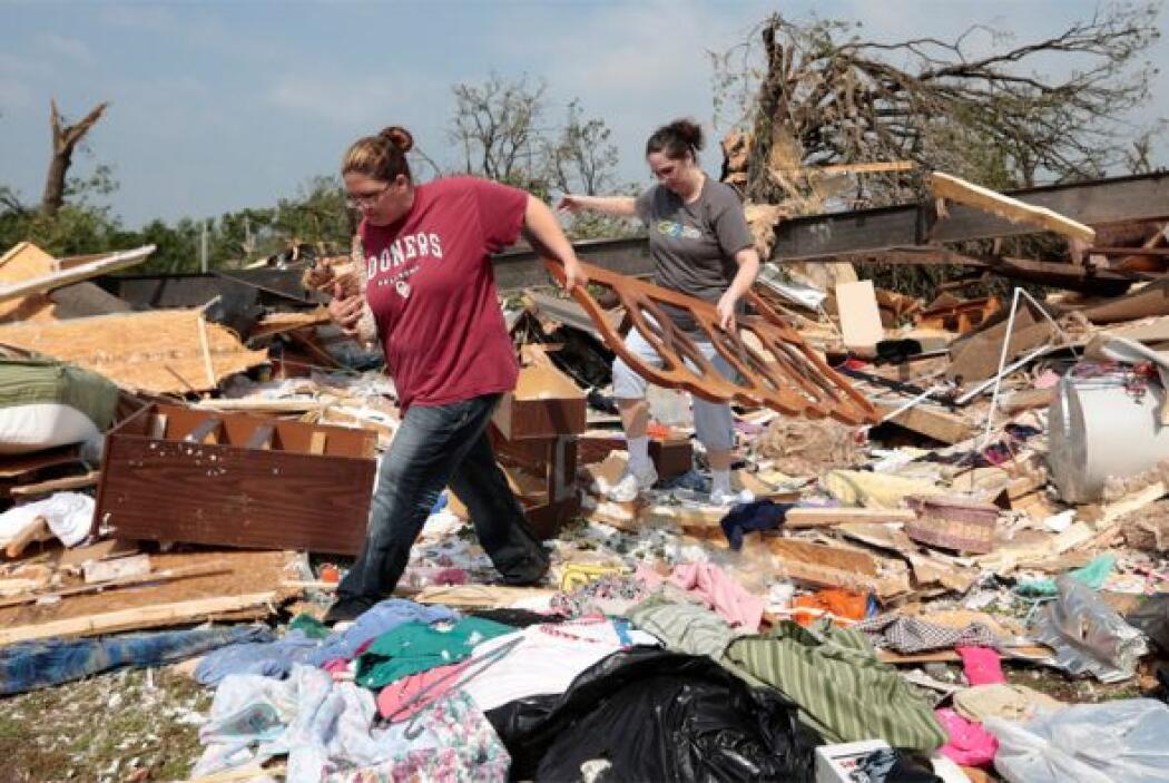 14. El 20 de mayo un tornado clase 5 azotó la región de Moore, Oklahoma...