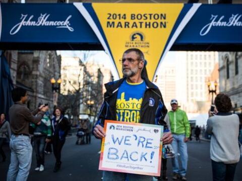 A un año del atentado terrorista en el maratón, Boston hace lo posible p...