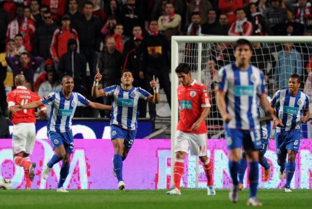 Al minuto 27 se volvió a mover el marcador gracias al líder de goleo en...