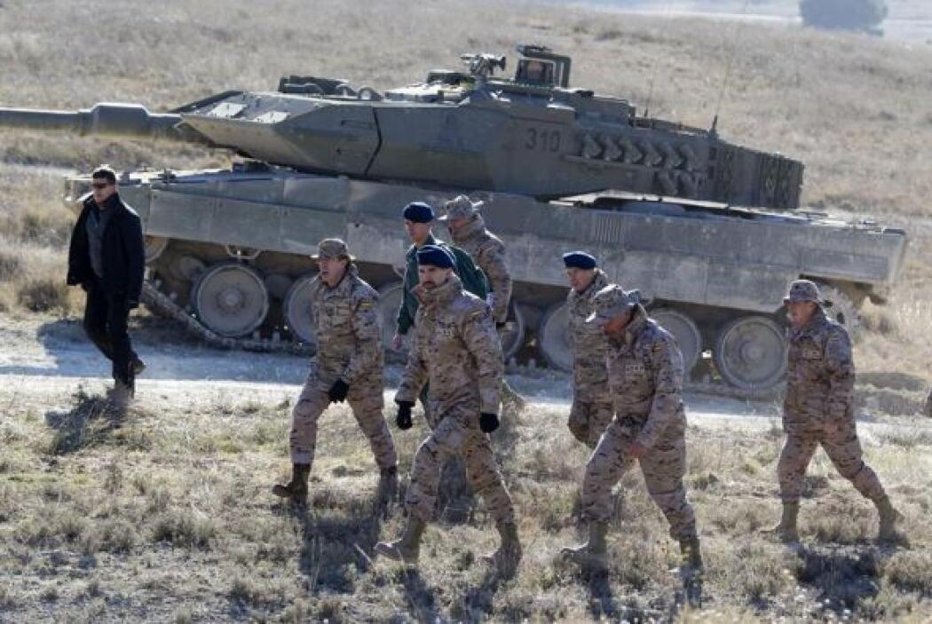 Un millar de militares realizaron este viernes el ejercicio BIRMAD I/14...