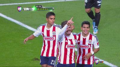 Antonio Gallardo le da el empate a Chivas ante Dorados en el último minuto