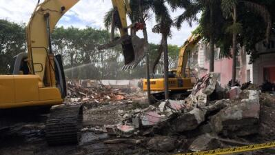 Cazatesoros rastrean antigua mansión de Pablo Escobar en Miami Beach