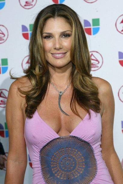 Daisy Fuentes puso a sudar a los caballeros en 2005.