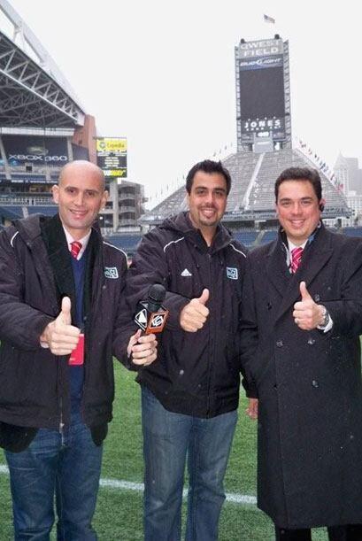 """Los """"Tres Mosqueteros de la MLS"""" listos para traerte la gran f..."""