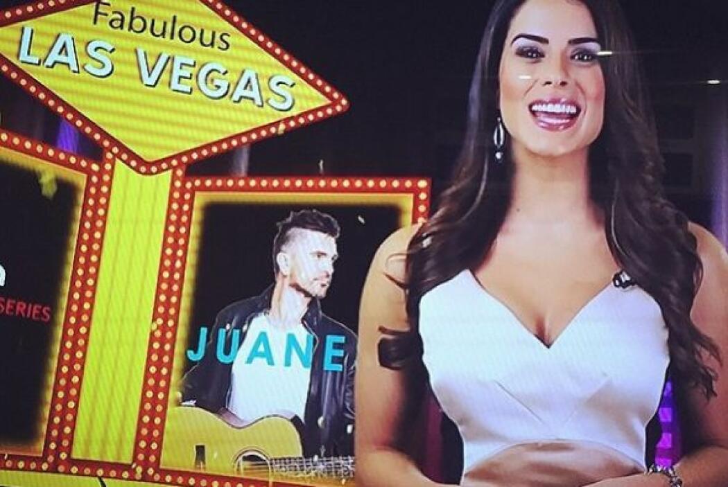 Vanessa se divierte mucho viendo a su 'gemela' en la televisión.