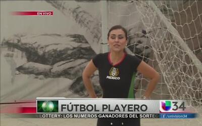 Fiebre de fútbol playero en LA