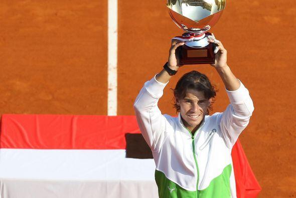 Por séptimo año consecutivo, el español Rafael Nadal se coronó en el Mas...