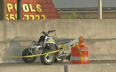 Una persona perdió la vida en un accidente con motocicleta todoterreno e...