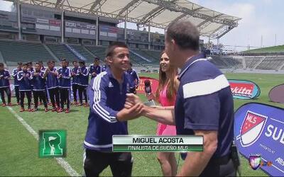 Miguel Acosta es el segundo finalista del Sueño MLS 2015