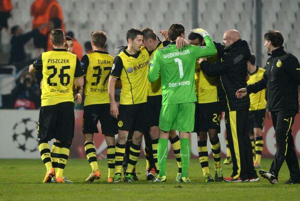 En los minutos finales los alemanes lograron el triunfo por 2-1 y así el...