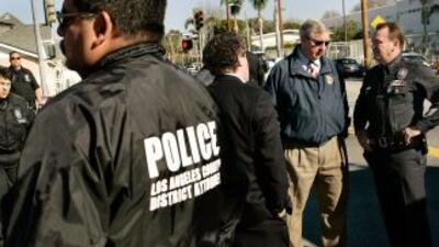 Miembros del equipo de SWAT del LAPD.
