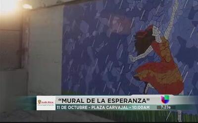 """Vota hoy por el """"Mural de la esperanza"""""""