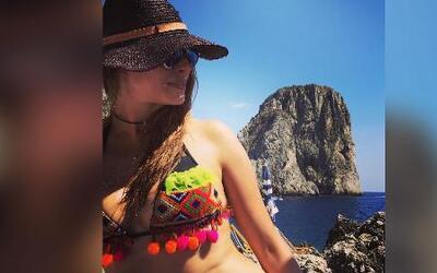 Galilea Montijo está viviendo la 'dolce vita' en Italia