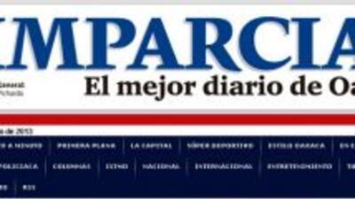 Imagen de la web de El Imparcial.