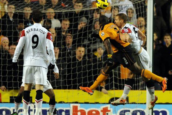 Pero ante la sorpresa de muchos, el local Wolverhampton, llegó al empate...