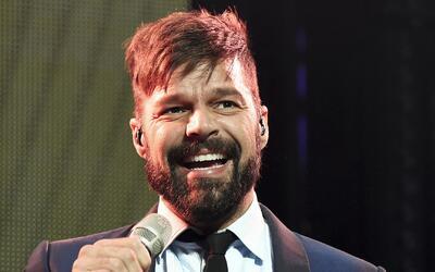 La tierna visita que recibió Ricky Martin en el set de grabación