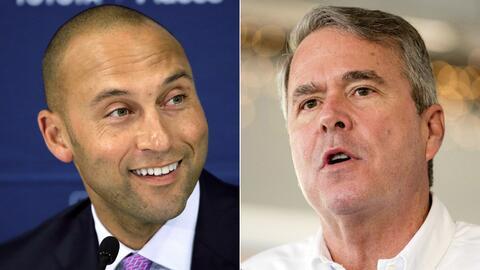 Derek Jeter sería la imagen del equipo y Jeb Bush estaría...