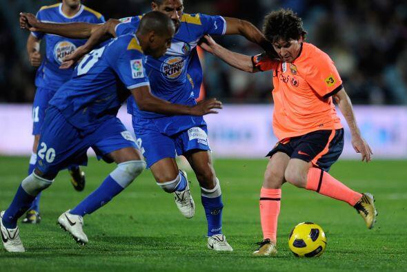 Los barcelonistas no se conformaron con un solo gol e iban por m´ás.
