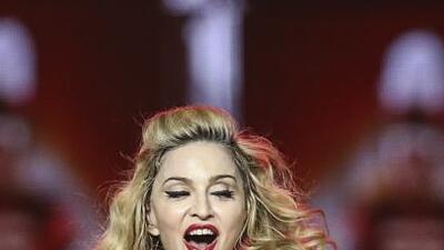 Madonna se presentó este fin de semana en el Consol Energy Center de Pit...