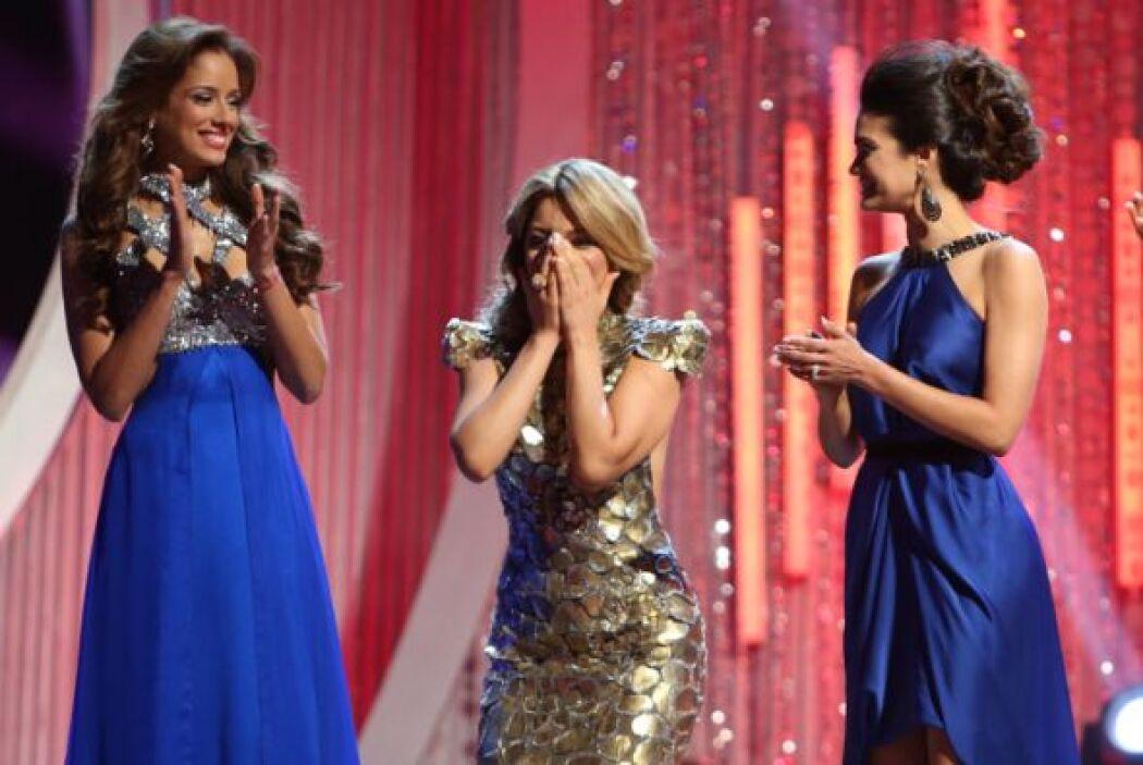 La segunda chica en asegurar su puesto en la final fue la guatemalteca J...