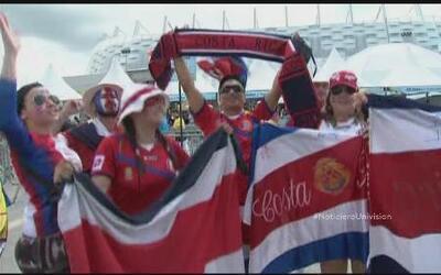 Costa Rica sigue empeñada en ser la sensación del Mundial
