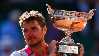 Wawrinka sorprende al alzarse con el título de Roland Garros ante el núm...