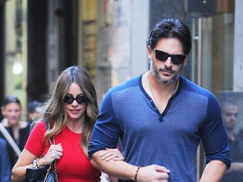 La pareja presume su amor por las calles de Manhattan antes de regresar...