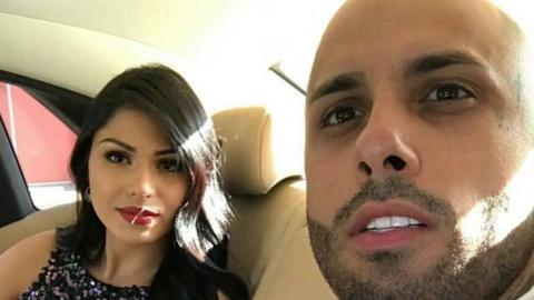 Nicky Jam se casó con la colombiana Angélica Cruz en Medel...