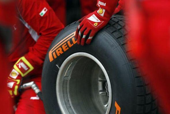 Los nuevos neumáticos de la firma italiana Pirelli respondieron p...