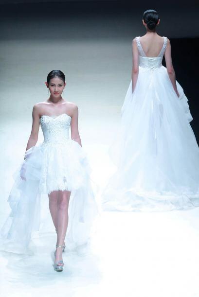 La sofisticación y elegancia se hizo presente en esta colecci&oac...