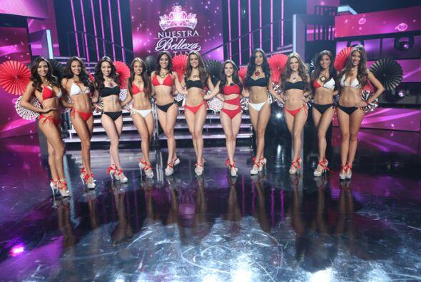 Las chicas de Nuestra Belleza Latina se tomaron en serio el fin de seman...